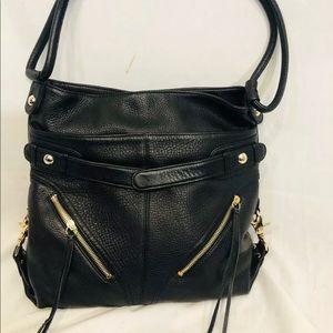 Botkier Black Leather Shoulder Bag